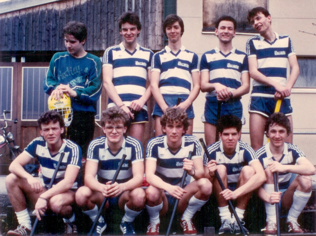 Gründerteam UHC JW Sursee '86
