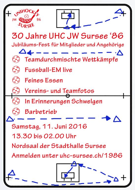 30 Jahre UHC JW Sursee '86