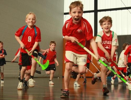 Unihockey-Probetrainings für Jungs und Mädchen