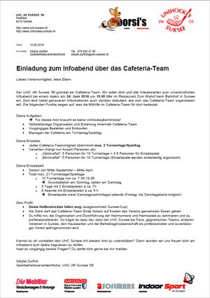 Cafeteria-Team