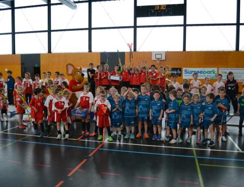 1. Sursee-Trophy der F-Junioren war ein Erfolg