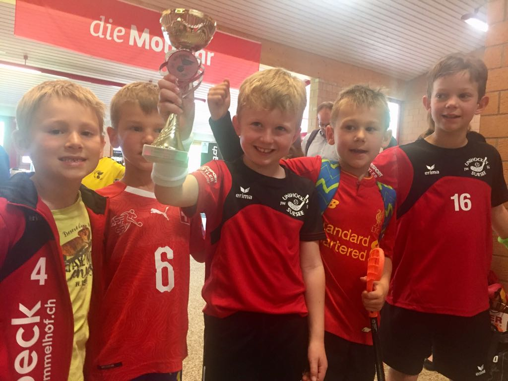 F-Junioren gewinnen Zentralschweizer-Cup