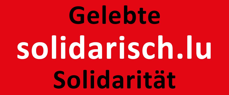 Gelebte Solidarität
