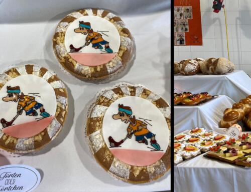 Bäcker-Konditorin macht LAP mit Unihockey-Sujets