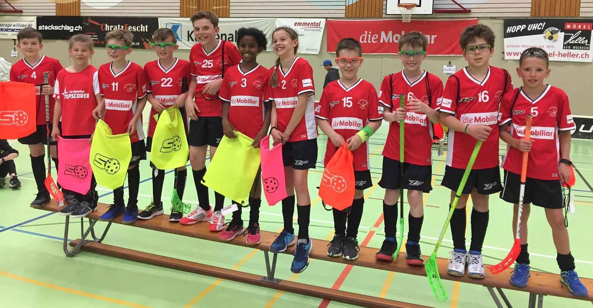 Erfolgreicher Saisonstart für die D-Junioren Rot