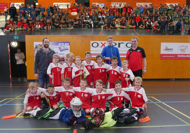 Erfolgreiche zweite Sursee-Trophy für F-Junioren