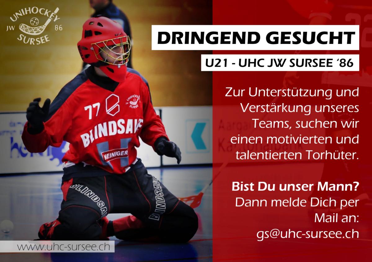 U21-Torhüter gesucht